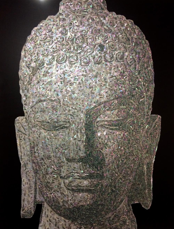 김일중_믿는다는 것_91 × 117cm_자개,아크릴릭,바니쉬_2017