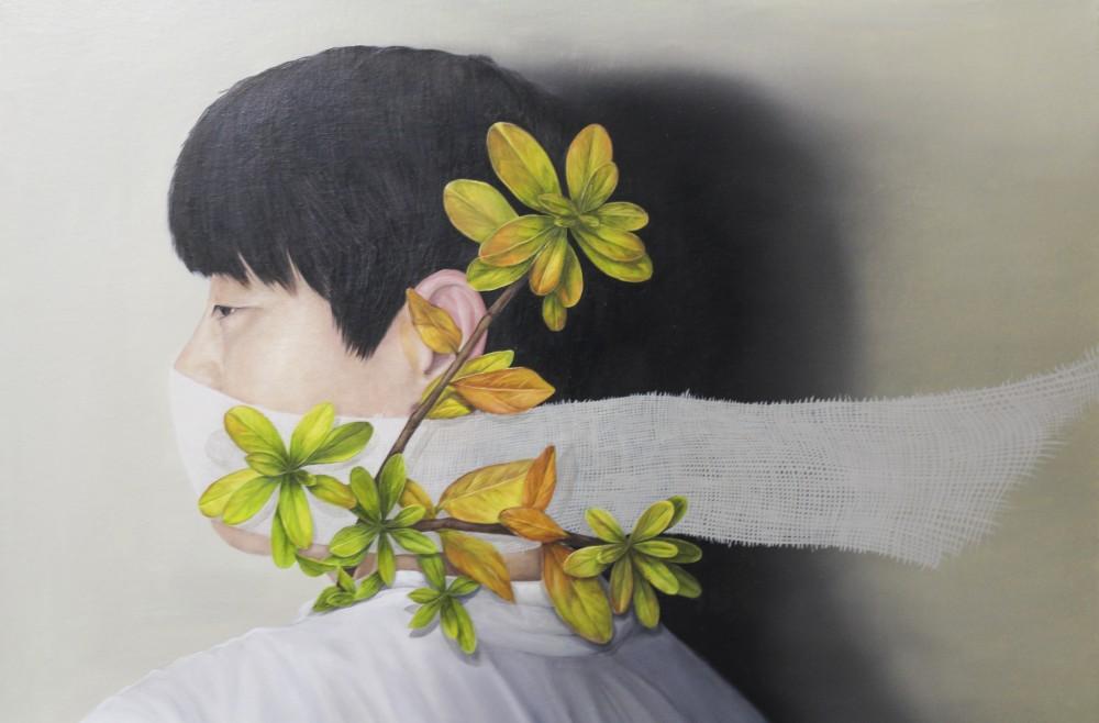 암묵적 소통(Taciltly)_72.7x50cm_캔버스에 유채_2017