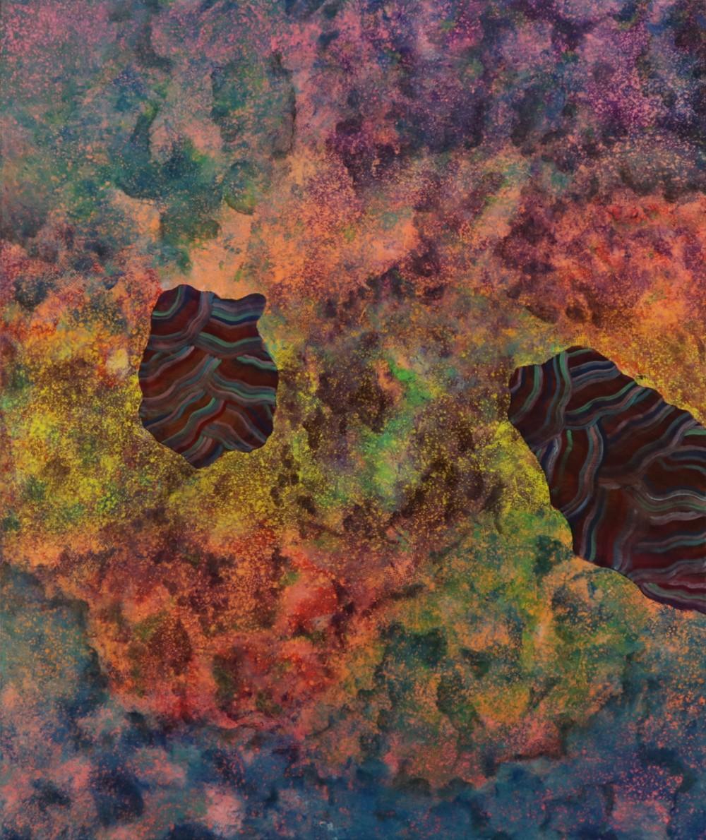 김기섭_Internal Landscape Series 54_73 x 61cm_캔버스에 아크릴_2017